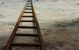 Rusty ladder Stock Images