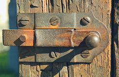 Rusty latch Royalty Free Stock Photo