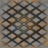 Rusty lattice Stock Images