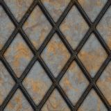 Rusty lattice Stock Image