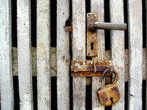Rusty lock Stock Photography