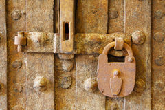 Rusty lock Royalty Free Stock Image