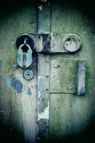 Rusty lock Stock Image