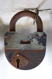 Rusty lock Royalty Free Stock Image