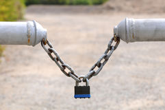 Free Rusty Lock And Chain Stock Photography - 16779712