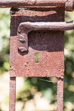 Rusty lock Royalty Free Stock Images