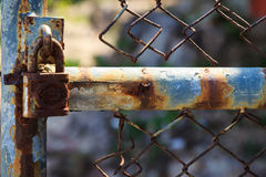 Rusty lock Stock Photos