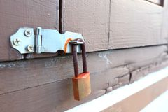 Rusty Lock Stock Photography