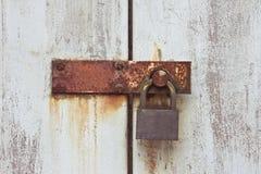 Rusty lock Royalty Free Stock Photos