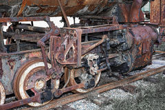Rusty locomotive Royalty Free Stock Images