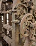 Rusty machine detail Royalty Free Stock Image