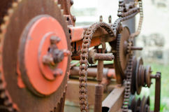 Rusty Machinery Stock Images