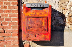 Rusty Mail Box. Royalty Free Stock Photo