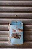Rusty mailbox Stock Image
