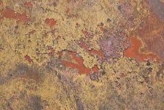 rusty malowaniu metali Obraz Stock