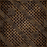 Rusty manhole cover (Seamless texture) Stock Image