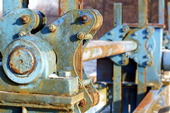 Rusty mechanism Stock Photography