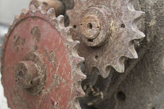 Rusty mechanism Royalty Free Stock Images