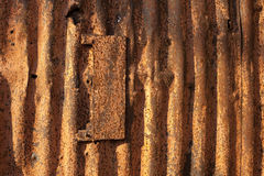 Rusty metal. Texture of old Rusty metal Stock Photography