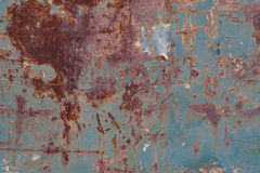 Rusty metal. Rusty and battered metal background Royalty Free Stock Photography