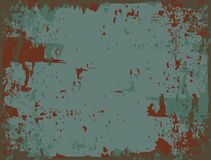 Rusty metal. Abstract vector background Royalty Free Stock Photo