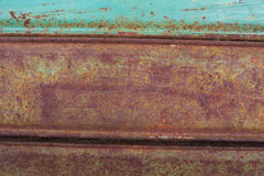 Rusty Metal Abstract Fotografía de archivo