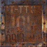 Rusty Metal Background Lizenzfreie Stockfotografie