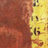 Rusty Metal Background Fotos de archivo