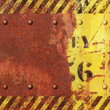 Rusty Metal Background Imagenes de archivo