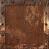 Rusty Metal Background Lizenzfreies Stockbild