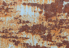 Rusty metal background Royalty Free Stock Photos