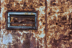 Rusty metal background detail Royalty Free Stock Photos