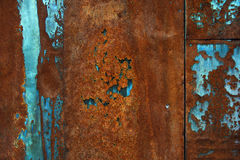 Rusty metal background. Background image of a piece of rusty iron Royalty Free Stock Photo