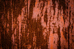 Rusty metal background material texture Stock Photography