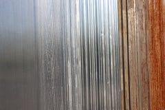 Rusty metal background Stock Image