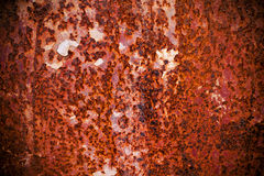 Rusty metal background textured Stock Photography