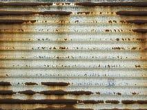 Rusty Metal - bakgrundsserie Arkivfoto