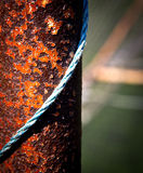 Rusty metal bar Royalty Free Stock Image