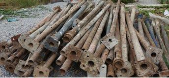 Rusty Metal Bars Stockbild