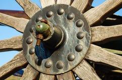 Rusty Metal Bolt und Nuss Stockfotos