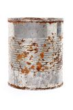 Rusty Metal Can Royalty Free Stock Images