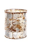 Rusty Metal Can Stock Photo