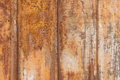 Rusty metal. Close-up picture of a very rusty metal sheet Royalty Free Stock Photos