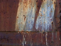Rusty metal corroded texture Stock Images