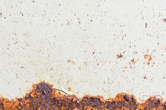 Rusty Metal, Corrosion of the surface, Grunge texture or backgro Stock Photos