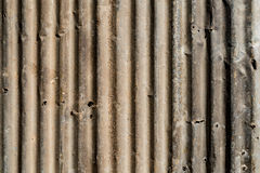 Rusty Metal corrugated Royalty Free Stock Photography