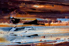 Rusty Metal detail Stock Photography