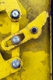 Rusty Metal Door immagini stock