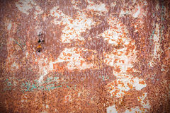 Rusty metal door Stock Photos
