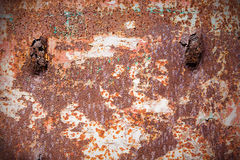 Rusty metal door Royalty Free Stock Photo